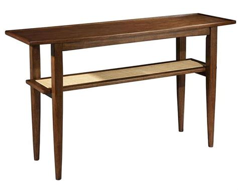 modern sofa table mid century by hekman he 951309mw