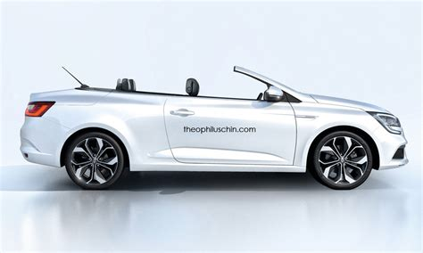 megane renault convertible will the renault megane cabriolet look like this