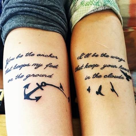 40 adorable sisters forever tattoo design ideas bored art