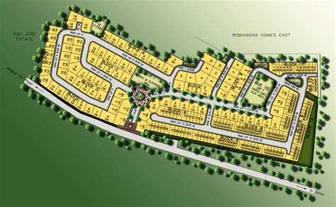 Free House Layout site development map st bernice robinsons homes antipolo