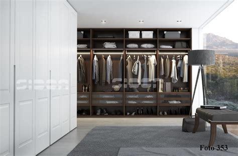 puertas vestidor armarios sidon vestidor con led en melamina con puertas