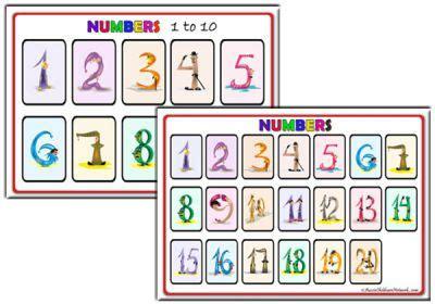 alphabet posters aussie childcare network number posters aussie childcare network