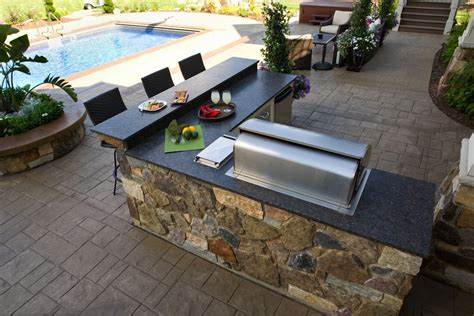 l shaped outdoor kitchen kits brown laminate teak wood