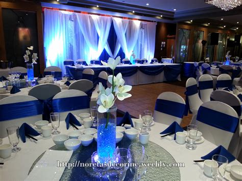 Wedding Backdrop Blue by Royal Blue And Silver Wedding Decorations Beautiful Royal