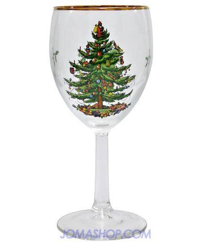 spode christmas tree wine glass set of 4 spxtwg spode spode
