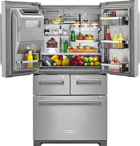 kitchenaid undercounter refrigerator freezer drawers kitchenaid double drawer refrigerator remove drawers
