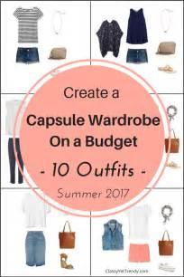 create a capsule wardrobe on a budget 10 summer