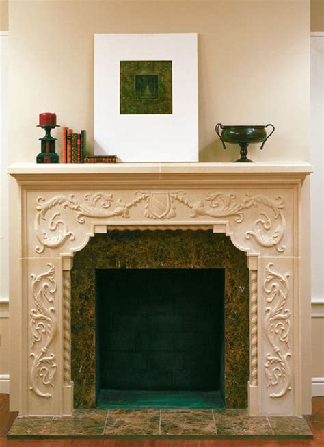 fireplace mantels dallas carved brentwood cast fireplace mantel traditional