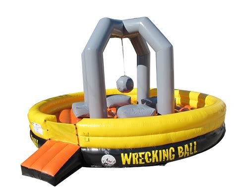bounce house rentals the wrecking ball inflatable rentall awesome amusements party rentals