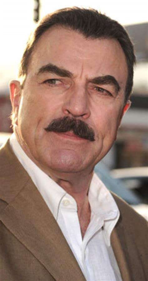 grey haired actor with mustache tom selleck imdb