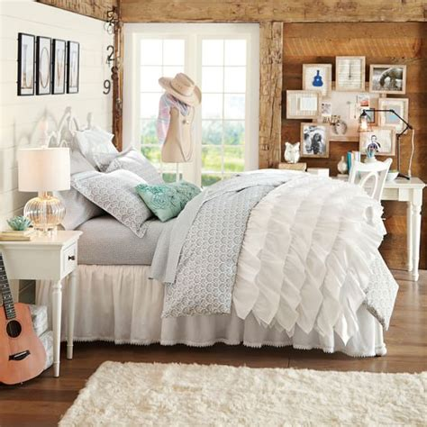 pbteen comforters rufflicious quilt sham pbteen