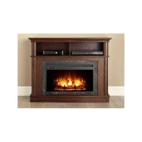 rustic electric fireplace electric fireplace tv console entertainment center media