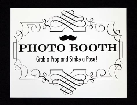 17 Photo Booth Sign Images Free Printable Photo Booth Sign Templates Strike A Pose Photo Free Printable Photo Booth Sign Template