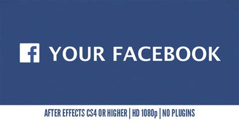 templates after effects facebook after effects project videohive your facebook 7014660
