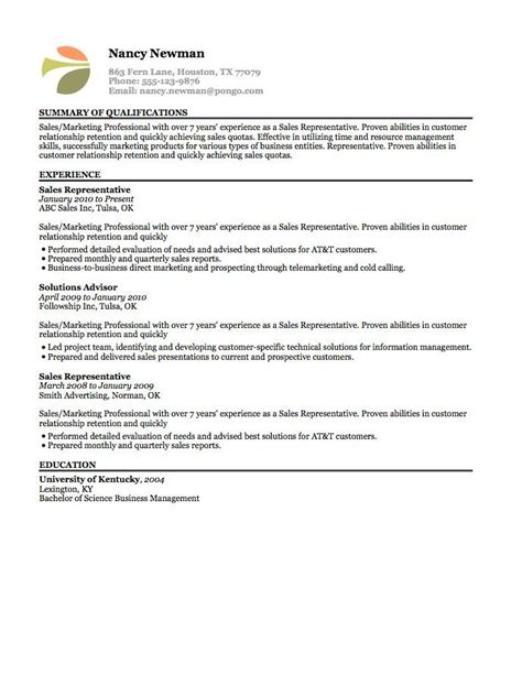 13 best resumes images on resume templates