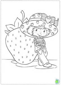 strawberry shortcake coloring page dinokids org