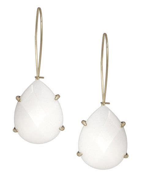 White Earring white earrings previously owned lab created white shire