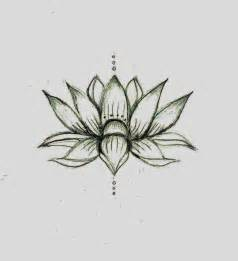 Simple Lotus Drawing This Lotus Flower Sketch Ideas