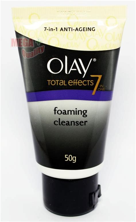 Olay Foam olay total effects 7 in 1 anti aging foaming foam cleanser