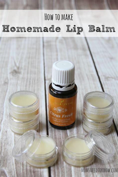 Handmade Lip Balm - 20 best essential diy lip balm recipes think