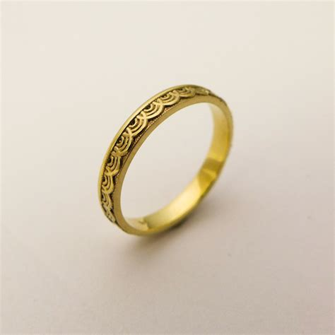 Wedding Rings Simple by 14 Karat Gold Simple Wedding Ring For Gold Ring With
