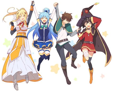 Anime This Season by Fanart Season 2 Get Konosuba Anime