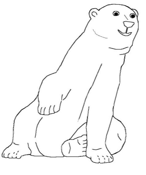 Endangered Species Coloring Pages Kids World Earth Arctic Coloring Page
