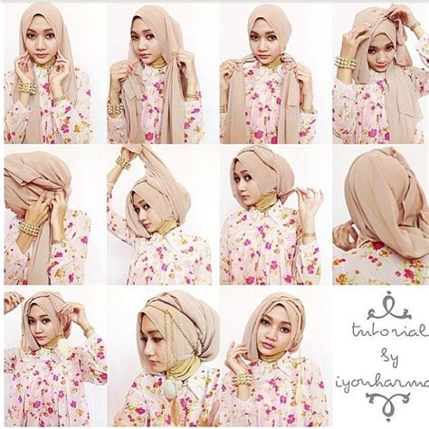 tutorial layering turban style 201 best images about hijab tutorials on pinterest