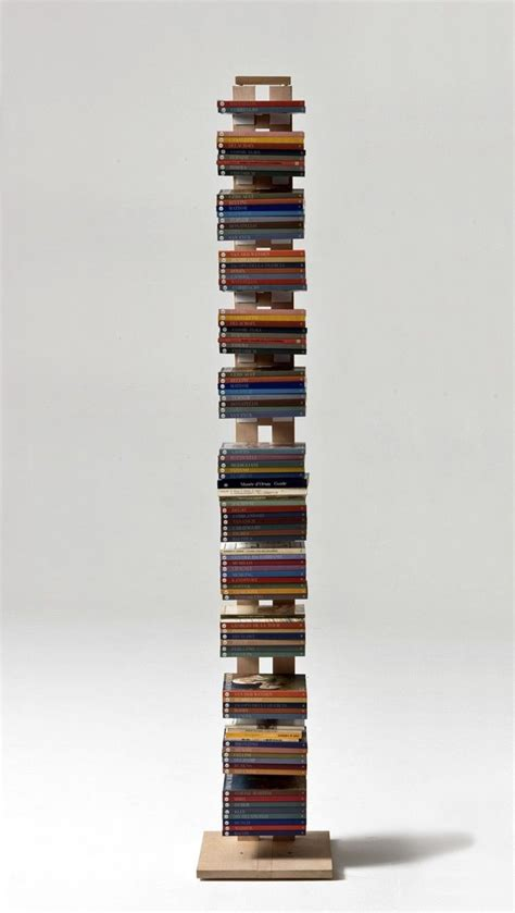 lade con piantana lade da terra in legno le librerie a colonna di design