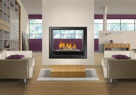 hd81 napoleon gas fireplace see thru fireplaces pinterest