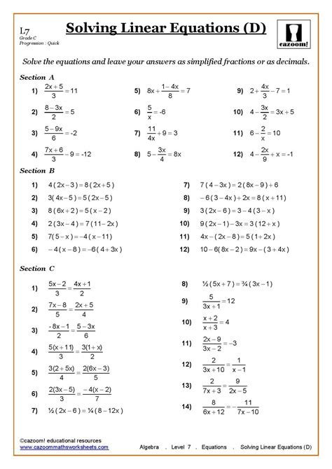 printable worksheets ks3 maths ks3 ks4 maths worksheets printable maths worksheets