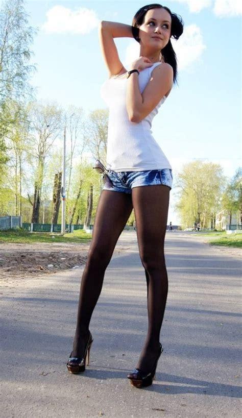 primejailbait pantyhose shorts 247 best hose heels and short skirts s images on