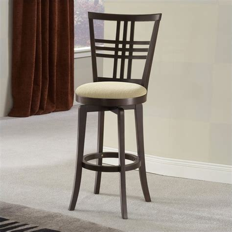 Kitchen Bar Stools Hillsdale Tiburon 24 Quot Swivel Counter Stool In Espresso