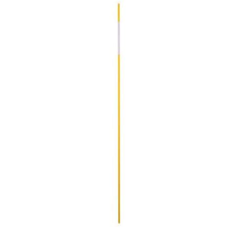 fiberglass home depot blazer international driveway marker 48 in yellow