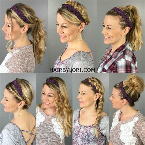 can you wear headbands after 40 7 ways to wear a headband hair by lori