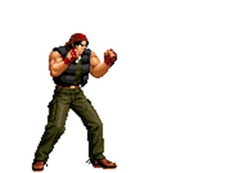 imagenes gif king of fighter ralf jones king of fighters animations 3