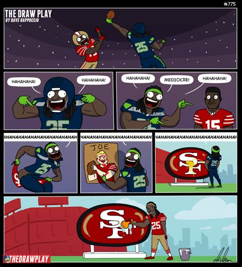 Marvelous Fun Christmas Cards #4: 2018-03-13-RichardSherman49ers-927x1024.png