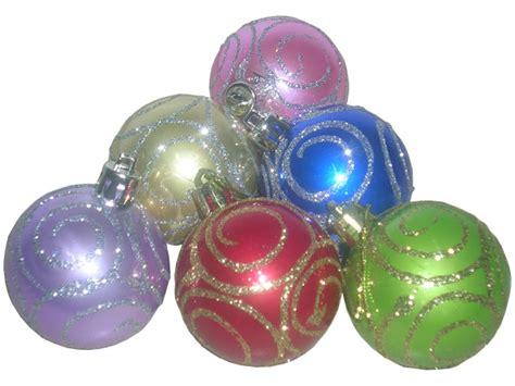 Lu Natal Berashias Warna Warni hiasan pohon natal bola warna warni