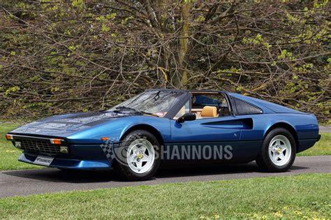 Sold: Ferrari 308 GTSi Quattrovalvole 'Targa' Coupe