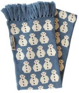 the snowman scarf adult size by green eyed monster