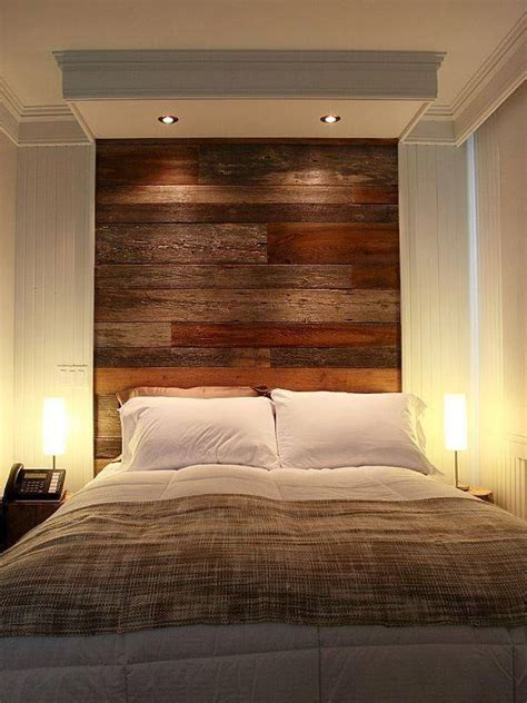 Wood Headboard Designs by Diy Pallet Wall Headboard Design