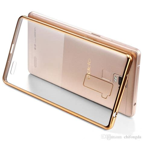 Chrome Oppo R7 Tpu Softcase Ultrathin for oppo a37 electroplating luxury ultra thin clear transparent tpu soft mobile protective
