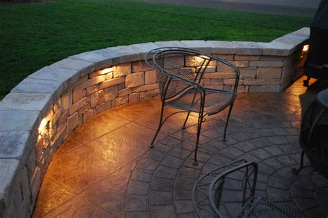Patio Wall Lighting Integral Lighting Landscape Philadelphia By Integral Lighting