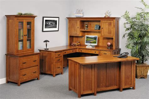 mission style executive desk mission lateral file cabinet and hutches in solid hardwood