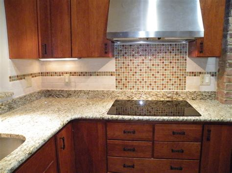 25 glass tile backsplash design pictures for kitchen 2018