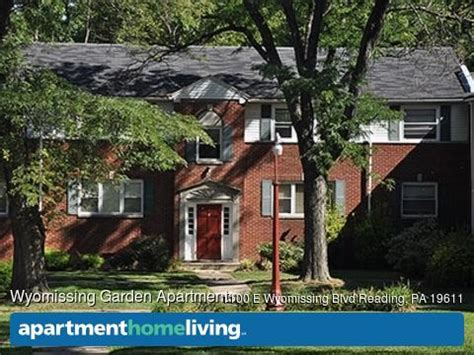Wyomissing Garden Apartments by Wyomissing Garden Apartments Reading Pa Apartments For Rent