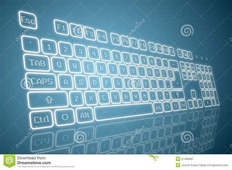 imagenes teclado virtual teclado virtual en perspectiva foto de archivo imagen