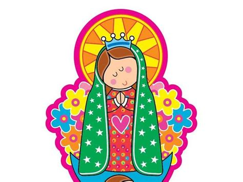 imagen virgen de guadalupe para ninos imagenes de la virgen de guadalupe en caricatura para