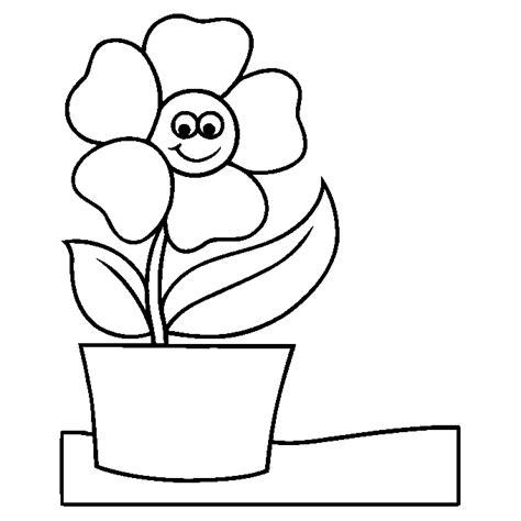imagenes para pintar macetas dibujos de flores en macetas para colorear