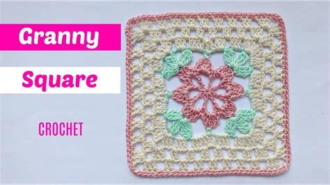 youtube tutorial granny square tutorial granny square crochet paso a paso youtube